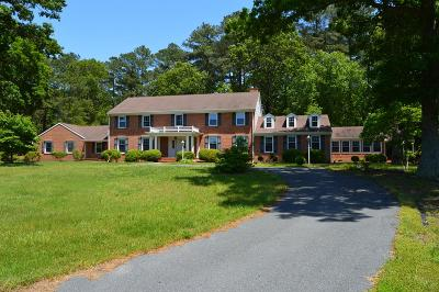 Single Family Home For Sale: 18507 Metompkin Rd