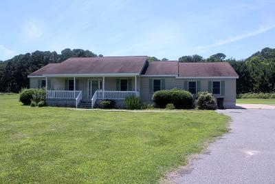 Northampton County Single Family Home For Sale: 13376 Church Neck Rd