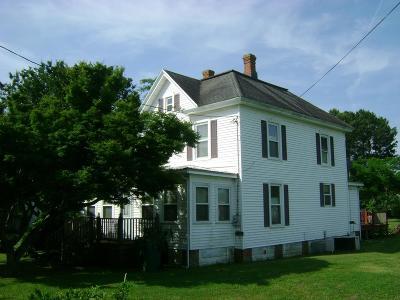 Onancock, Onley, Melfa, Wachapreague, Harborton, Painter, Keller, Pungoteague Single Family Home For Sale: 25358 Maryland Ave