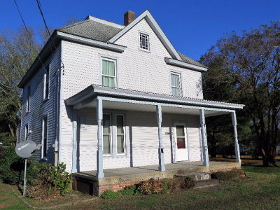 Accomack County Single Family Home For Sale: 19531 Main St