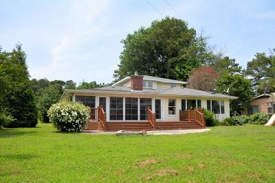 Accomack County, Northampton County Single Family Home For Sale: 11347 Church Neck Rd