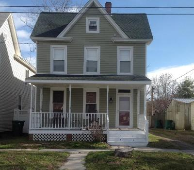 Cape Charles Single Family Home For Sale: 416 Plum St