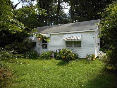Northampton County, Accomack County Single Family Home For Sale: 29349 Bobtown Rd