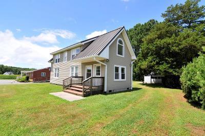 Onancock Single Family Home For Sale: 7 Fairgrounds Rd