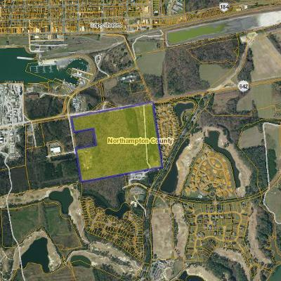 Cape Charles, Capeville, Kiptopeke, Cheriton Residential Lots & Land For Sale: 000 Old Cape Charles Rd