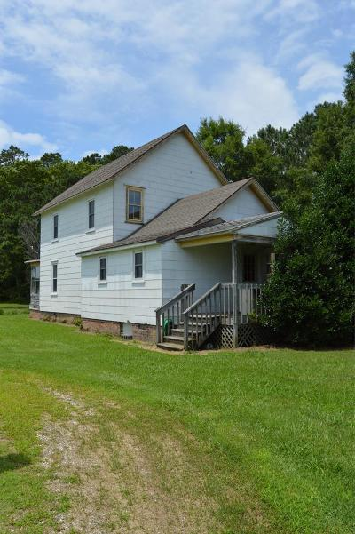 Northampton County, Accomack County Single Family Home Under Contract/Continue To Sho: 30065 Back Creek Rd