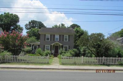 Onancock Single Family Home For Sale: 44 Kerr St
