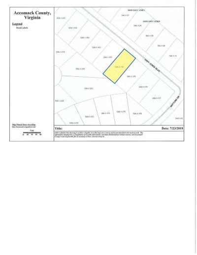 Greenbackville, Horntown Residential Lots & Land For Sale: Lot 180 Davey Jones Blvd