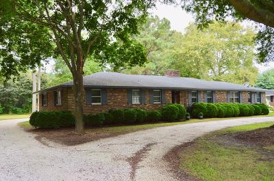 Accomack County, Northampton County Single Family Home For Sale: 2416 Belle Haven Rd