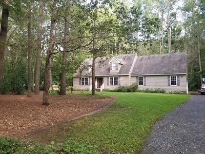 Accomack County, Northampton County Single Family Home For Sale: 25107 Serenity Ln