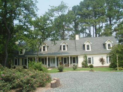 Accomack County, Northampton County Single Family Home For Sale: 28150 Boggs Wharf Rd