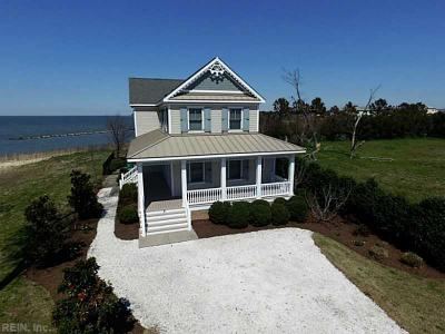Cape Charles Single Family Home Under Contract/Continue To Sho: 4 Bay Vistas Way