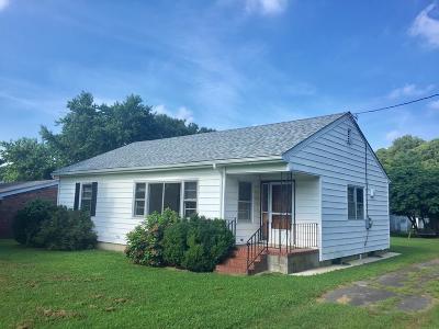 Accomack County Single Family Home For Sale: 35470 Davis Wharf Rd