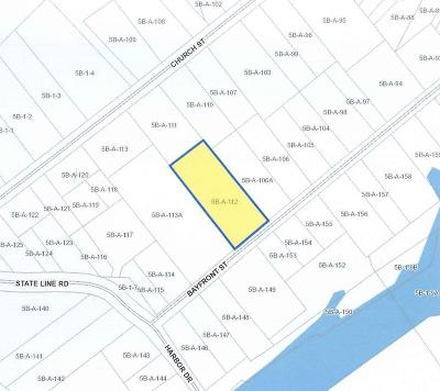Greenbackville, Horntown Residential Lots & Land For Sale: Lot 112 Bayfront St
