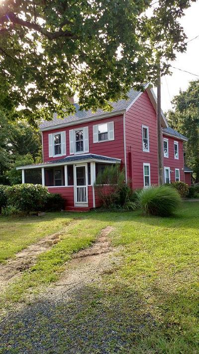 Accomack County Single Family Home For Sale: 21367 Hopkins Rd