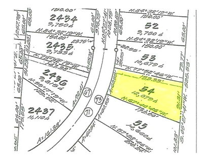 Residential Lots & Land For Sale: 54 Brigantine Blvd
