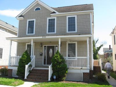 Cape Charles Single Family Home For Sale: 550 Madison Ave
