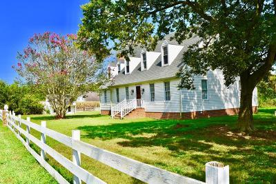 Northampton County, Accomack County Single Family Home For Sale