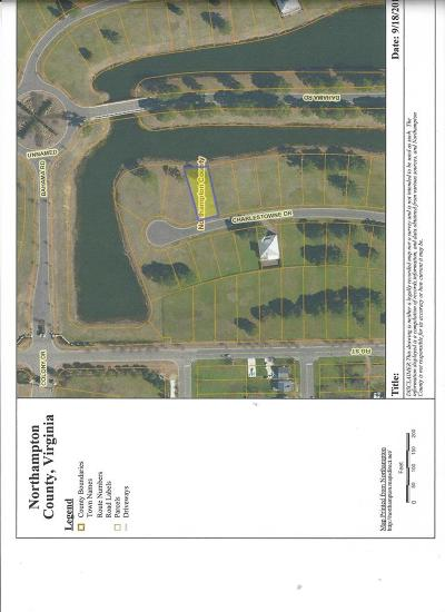 Cape Charles, Capeville, Kiptopeke, Cheriton Residential Lots & Land For Sale: Charlestowne Drive