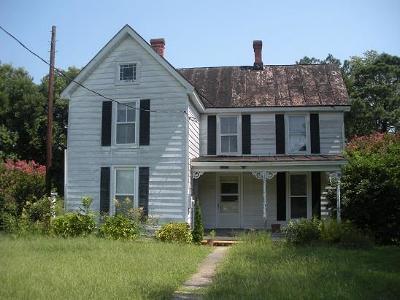 Northampton County, Accomack County Single Family Home For Sale: 23159 Lilliston Ave