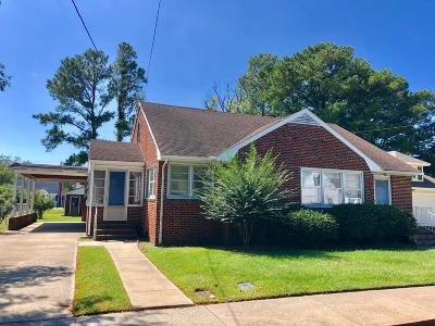 Chincoteague Single Family Home For Sale: 6190 Ocean Blvd