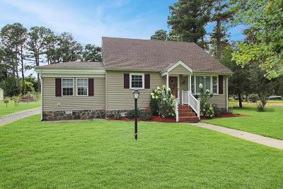 Chincoteague Single Family Home For Sale: 7064 Wayne Rd