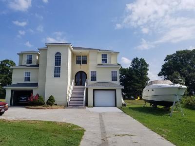 Accomack County, Northampton County Single Family Home For Sale: 12151 Nandua Shores Dr