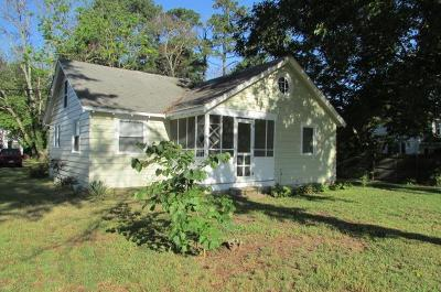 Accomack County Single Family Home For Sale: 25 Boundary Ave