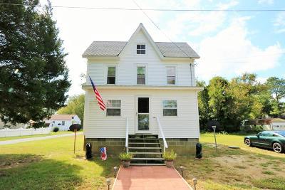 Greenbackville, Horntown Single Family Home For Sale: 1396 Ellis St