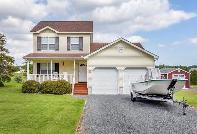 Greenbackville, Horntown Single Family Home For Sale: 3530 Captains Corridor