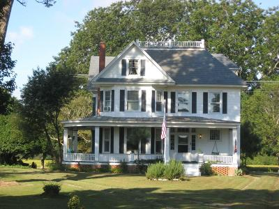Northampton County, Accomack County Single Family Home For Sale: 12384 Bayside Rd
