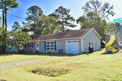 Chincoteague Single Family Home For Sale: 4192 Division St