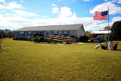Northampton County, Accomack County Single Family Home For Sale: 32098 Seaside Rd
