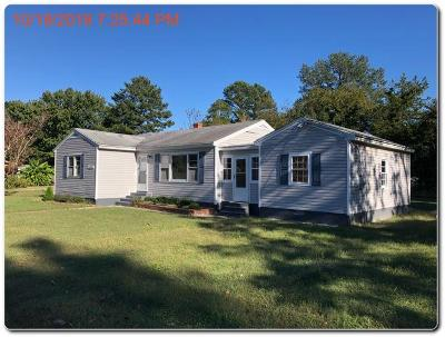 Accomack County Single Family Home For Sale: 35497 Wallace Ln