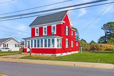 Chincoteague Single Family Home For Sale: 3438 Main St
