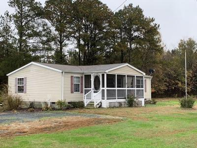 Northampton County, Accomack County Single Family Home Under Contract/Continue To Sho: 9397 Neal Parker Rd