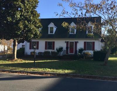 Onancock Single Family Home For Sale: 12 King St