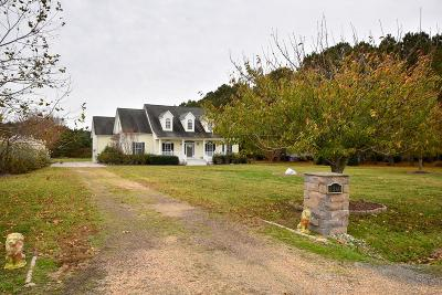 Cape Charles Single Family Home Under Contract/Continue To Sho: 2260 Sand Hill Dr