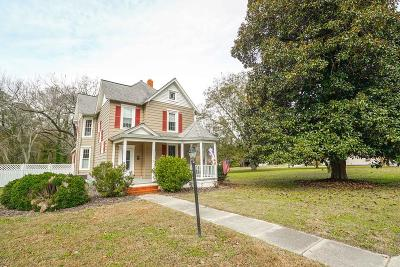 Accomack County, Northampton County Single Family Home For Sale: 35558 Belle Haven Rd