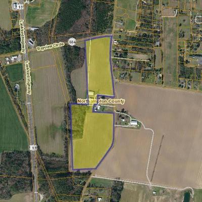 Cape Charles, Capeville, Kiptopeke, Cheriton Residential Lots & Land For Sale: 0000 Fairview Rd