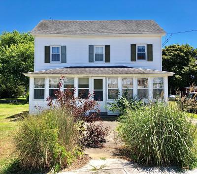Chincoteague Single Family Home For Sale: 4456 Main St