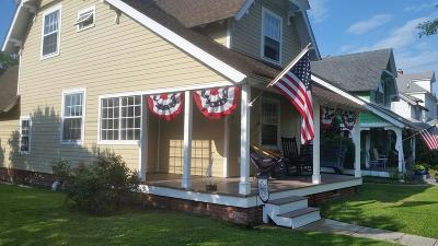 Accomack County, Northampton County Single Family Home For Sale: 501 Tazewell Ave