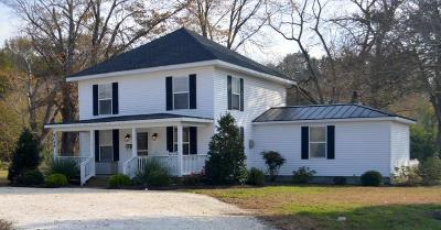 Accomack County, Northampton County Single Family Home For Sale: 6068 Occohannock Neck Rd