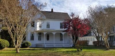 Accomack County Single Family Home For Sale: 23231 Courthouse Ave
