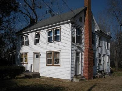 Accomack County, Northampton County Single Family Home For Sale: 15 Church St