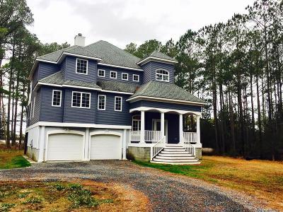 Accomack County, Northampton County Single Family Home For Sale: 12024 Hacksneck Rd