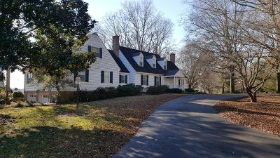 Accomack County, Northampton County Single Family Home For Sale: 11436 Scarboroughs Neck Rd