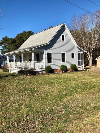 Accomack County Single Family Home Under Contract/Continue To Sho: 2 Waples St
