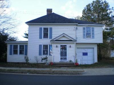 Accomack County Single Family Home For Sale: 35570 Belle Haven Rd