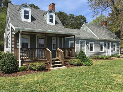 Onancock, Onley, Melfa, Wachapreague, Harborton, Painter, Keller, Pungoteague Single Family Home For Sale: 25536 Pennsylvania Ave